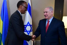 Benjamin Netanyahu incontra Paul Kagame al World Economic Forum di Davos