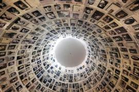La cupola del Memoriale dell'Olocausto, nello Yad Vashem di Gerusalemme.