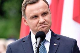 Il Presidente polacco Andrzej Duda
