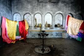 Un tempio yazida nella città di Baadre
