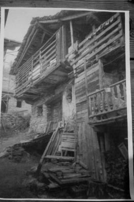 La casa dove i Luzzati hanno speso la loro prima notte in fuga ad Estoul