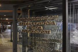 L'ingresso del nuovo Museo dell'Olocausto slovacco