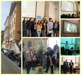 Giardino dei Giusti del Liceo Cavour di Roma