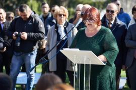 Daphne Vloumidi al Giardino dei Giusti di Milano