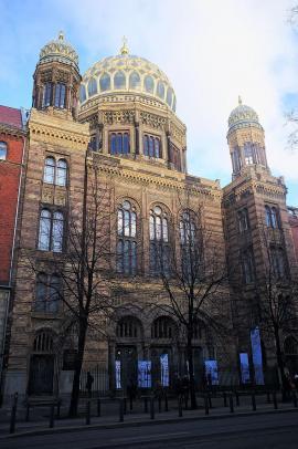 La sinagoga di Berlino come appare oggi