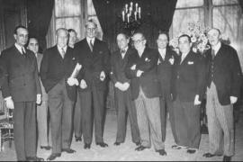 I delegati alla Conferenza di Evian