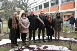 L'inaugurazione del Giardino di Parma
