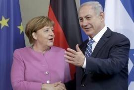 Angela Merkel e Benjamin Netanyahu, un'amicizia alla prova delle grandi sfide internazionali