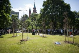 Il Giardino dei Giusti di Varsavia