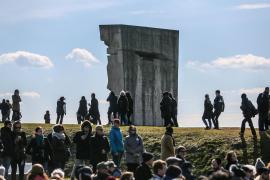 Monumento in memoria degli internati nel campo nazista di Plaszow