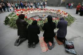 Commemorazione alla Collina delle Rondini di Yerevan