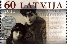 Il francobollo commemorativo dei Giusti lettoni Jānis e Yohanna Lipke