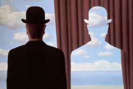 Decalcomania, dipinto di René Magritte