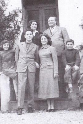 una foto della famiglia Crema