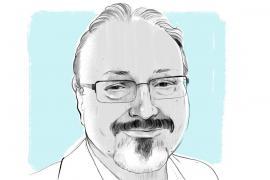 Ritratto di Jamal Khashoggi
