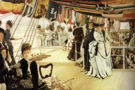 The Ball on Shipboard, James Tissot