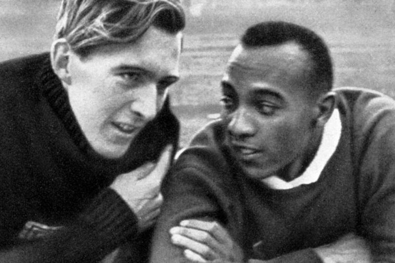 Luz Long e Jesse Owens