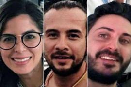 Alcuni dei reporter arrestati in Venezuela