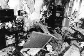 casa appartenente ad una famiglia armena saccheggiata a Sumgait nel 1988