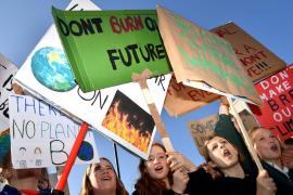 Giovani manifestanti per il clima