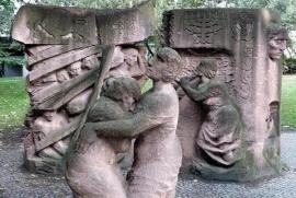 Berlino, monumento a Rosenstrasse