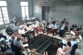 Un'immagine della riunione degli ambasciatori e dei collaboratori di Gariwo ai Bagni Misteriosi