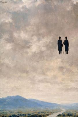 L'arte della conversazione, di René Magritte