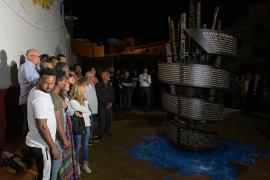 Il monumento inaugurato a Lampedusa