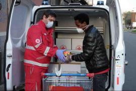 immagine della donazione degli alimenti