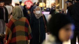 Cittadini iracheni a Bagdad dopo le misure di prevenzione da contagio COVID-19