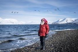 Kim Holmén, geofisico e direttore del Norwegian Polar Institute di Longyearbyen