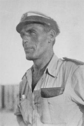 Cap. Gustav Pietsch ad Atlit negli anni '30