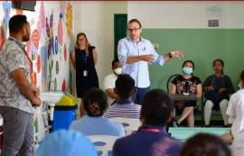 La presentazione della task force contro il coronavirus creata dall'Arcidiocesi di Dili, a Timor Est