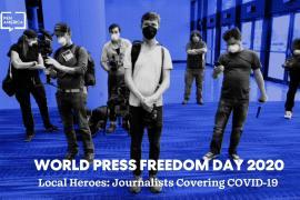 3 maggio 2020, Giornata Mondiale della Libertà di Stampa promossadall'Unesco.