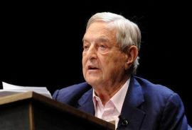 George Soros, finanziere ebreo e grande donatore per cause umanitarie