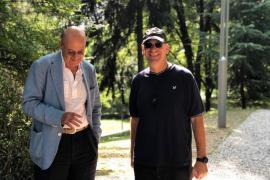 Gabriele Nissim e Nadav Tamir al Giardino dei Giusti di Milano