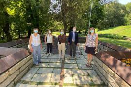 Da sinistra a destra: Marzia Pontone, Simonetta D'Amico, Anna Maria Samuelli, Gabriele Nissim e Roberta Osculati