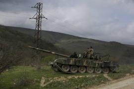 Un carro armato armeno nel 2016