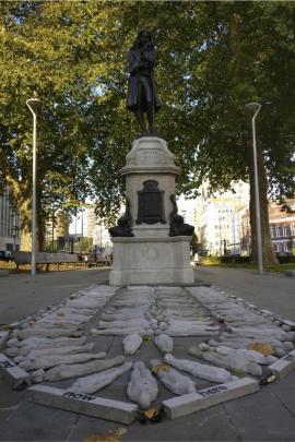 Statua di Edward Colston, Bristol