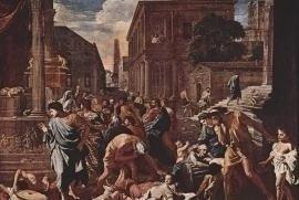 La Peste di Azoth di Nicolas Poussin