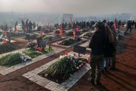 Il cimitero militare di Yerablur