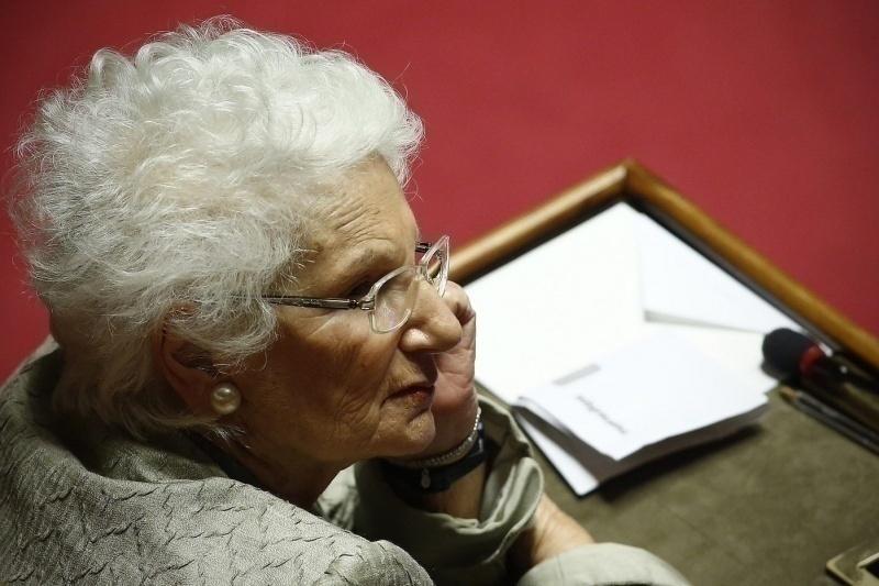Liliana Segre in aula per la cittadinanza a Patrick Zaki
