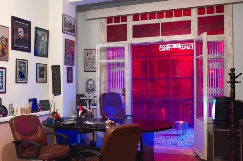 Centro per la Memoria di Hrant Dink 23.5, nell'ex sede di Agos. Lo studio del giornalista è stato lasciato intatto.