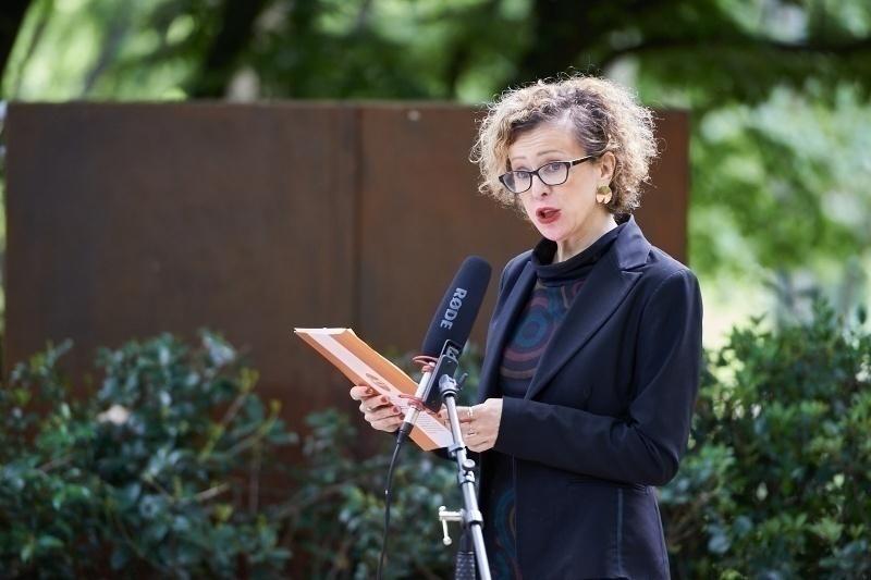 Tatjana Dordević Simić al Giardino di Milano per la Giornata per la libertà di stampa