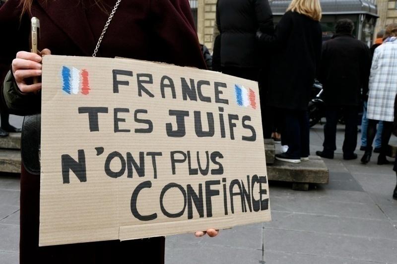 Una manifestazione per Sarah Halimi a Parigi nel 2019