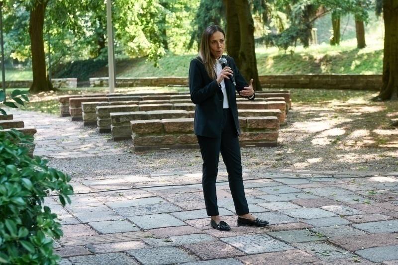 L'intervento di Elisabet Spina, responsabile del settore femminile del Milan