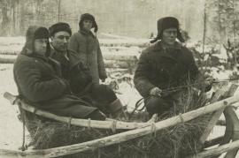 Lavoratori forzati nel gulag, 1936-'37 (foto Wikicommons)