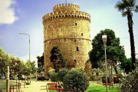 La torre bianca di Salonicco (Foto da Wikicommons)