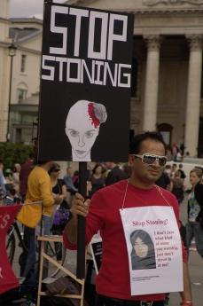 Manifestazione per Sakineh (fonte Flickr: utente Shreen Ayob)