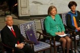 La sedia vuota alla cerimonia dei Nobel (fonte Wikicommons)